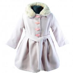 Palton fetite Colibri CA5242-R, Roz