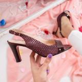 Sandale Piele Lasibi visinii