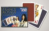 Cărți de joc  de lux  France Royale. Punte dubla. Piatnik.