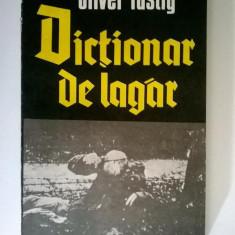 Oliver Lustig - Dictionar de lagar