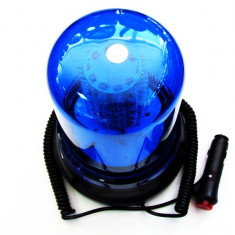 Girofar cu magnet 51066 cu 120 LED Albastru 12V - GMLA1020