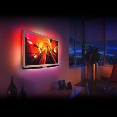 Set banda LED pt. iLuminare fundal TV cu telecomanda 24-38