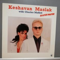 Keshavan Maslak & C. Moffet – Blaster Master (1984/Black /Italy) -Vinil/Jazz/NM