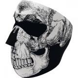 ZanHeadGear Masca Full Face Skull White