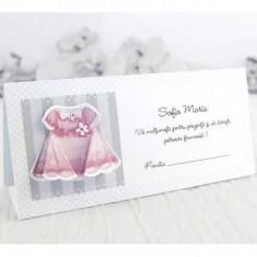 Card plic botez rochita 7513