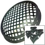 Set grilaj difuzoare, metalic, 10 inch (25,4 cm)
