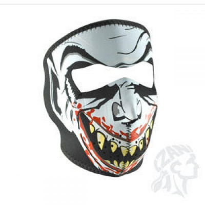 ZanHeadGear Masca Full Face Vampire Glow In The Dark foto