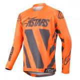 Alpinestars Tricou Racer Braap Anthracite/Orange S9 Copii