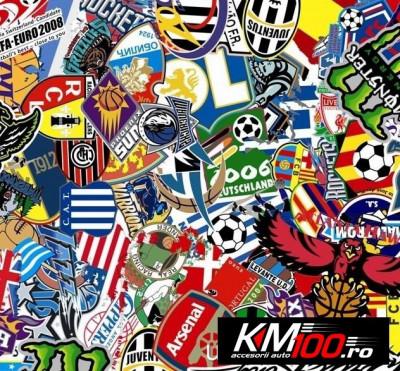 Sticker Bomb Football (1m x 1,5m) foto