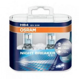 Set 2 becuri HB4 Osram Night Breaker Plus