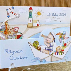 Invitatii botez marine barcute 15308