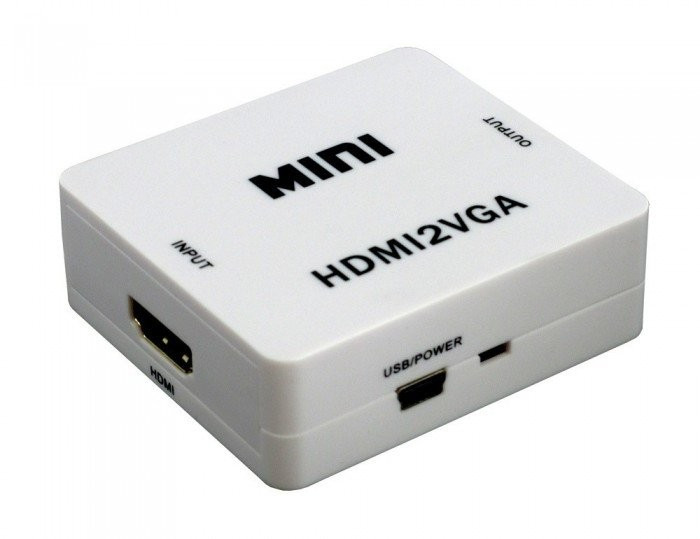 Adaptor HDMI - VGA | Audio dedicat
