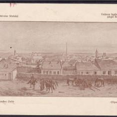 IASI  VEDEREA  IASILOR IN 1837 MARVAN MUZEUL ARHIVELOR STATULUI TIP ROMANE UNITE