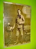 Militar alpin Vanatori de munte-Primul razboi mondial. Foto mare Kabinet.