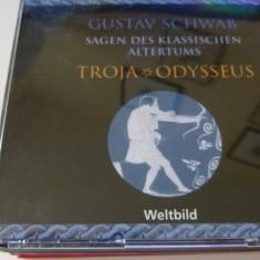 troja - gustav schwab -4 cd