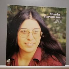 Maria Farantouri – Live - muzica greceasca (1979/Plane/RFG) - Vinil/Vinyl/NM, Polydor