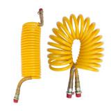 Furtun aer spiralat galben M16 pentru tiruri si camioane - BA-DIS5067106M16