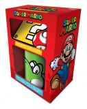 Nintendo : Super Mario Yoshi version mug gift set /Merchandise