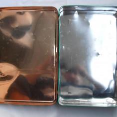 2 cutii de tabla vintage
