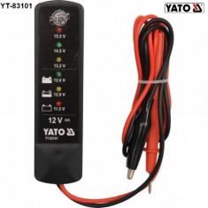 Tester Acumulator Auto Digital 12V YT-83101