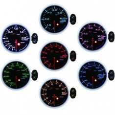Ceas programabil DEPO racing Presiune ulei, 7 culori