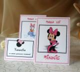 Carduri asezare botez Minnie Mouse MMC02