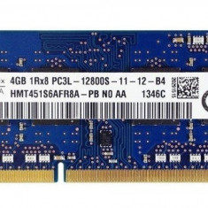Memorie Laptop SODIMM SKhynix 4GB DDR3 PC3L-12800S 1600Mhz 1.35V