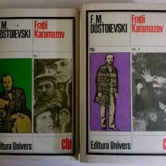 F. M. Dostoievski - Fratii Karamazov {2 volume}