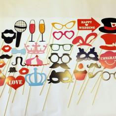 Set accesorii amuzante cu 31 piese recuzita pentru fotografii SET-FUN-5