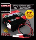 Invertor curent de la 24V la 220V 600W Carpoint - CRD-CAR0510313