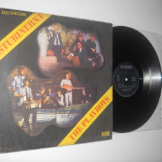 STUBINERNA/THE PLAYBOYS (disc vinil split, beat rock anii ' 60, stare VG+)