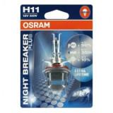 Bec H11 Osram Night Breaker Plus