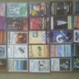 Casete audio rock ,pop, blues, jazz