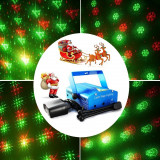 Proiector Laser Craciun Proiectii Fulgi,Brazi,Om de Zapada,Puncte,Clopotei