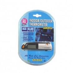 TERMOMETRU EXTERIOR-INTERIOR + AVERTIZARE PT. GHEATA
