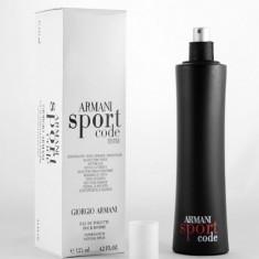 ARMANI SPORT CODE 125 ml - Giorgio Armani -  Parfum Tester - BARBATESC, Apa de parfum, Citric