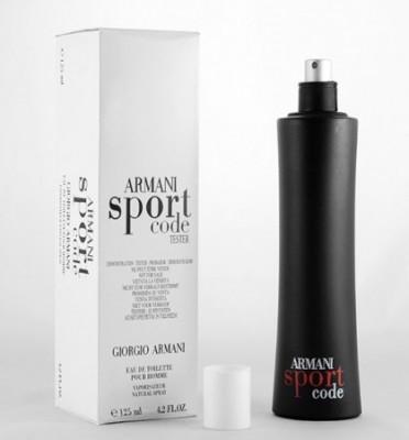 ARMANI SPORT CODE 125 ml - Giorgio Armani -  Parfum Tester - BARBATESC foto