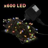 Sir lumini cu 600 LED-uri