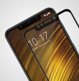 Folie sticla securizata 9D FULL GLUE pt Xiaomi Pocophone F1 / Redmi Note 6 Pro