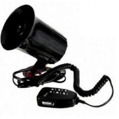 Sirena auto cu 6 melodii si microfon
