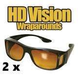 Set 2 perechi ochelari de condus pe timp de ZI, NOAPTE sau CEATA