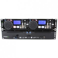 DUAL CD-MP3/USB/SD PLAYER + SCRATCH