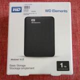 HDD hard disk WD ELEMENTS 1TB nou nefolosit SIGILAT, Western Digital