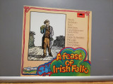 A Feast of Irish Folk – Various Artists (1977/Polydor/RFG) - Vinil/Vinyl/NM