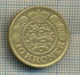 11817 MONEDA - DANEMARKA  - 10 KRONER - ANUL 1999  -STAREA CARE SE VEDE