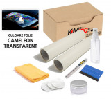 KIT COMPLET de polisare si protectie faruri - CAMELEON TRANSPARENT