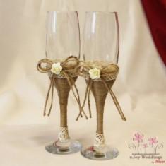 Pahare nunta traditionale trandafirasi P16F