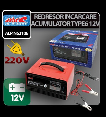 Redresor incarcare acumulator Type6 - 12V - IC970 foto
