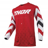 Thor Tricou Pulse Stunner Red/White S9 Copii