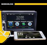 Player Video 7 inch HD, TouchScreen, 2DIN cu MirrorLink (AR-7653TM)